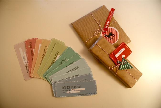 carnet de bons à offrir (à imprimer): diy - vie de miettes