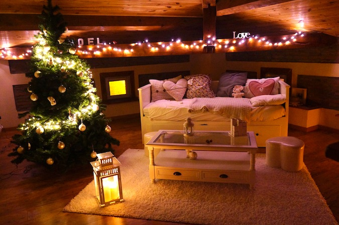 decoration de noel interieur chalet. Black Bedroom Furniture Sets. Home Design Ideas