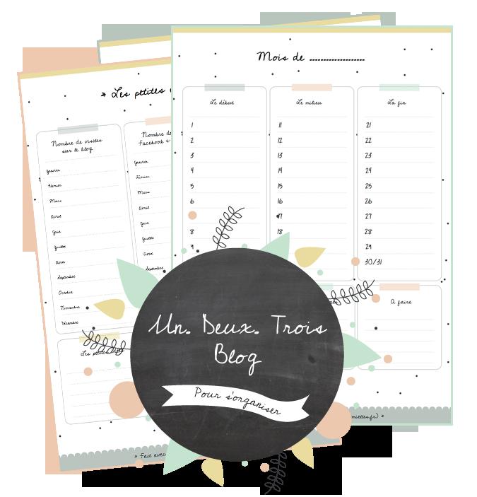 Kit pour bloguer