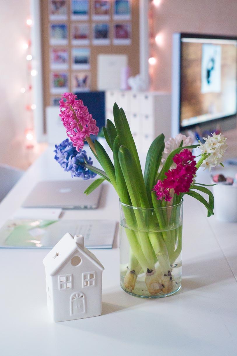 Fleurs bureaux