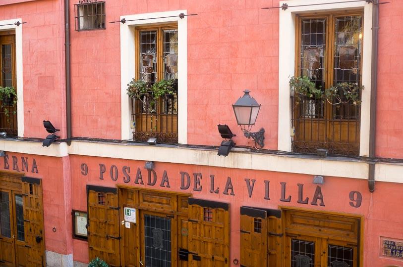 Hotel romantique à Madrid