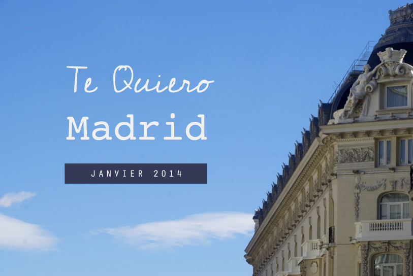 Madrid, week-end romantique