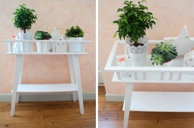 Meuble plante interieur for Meuble porte plante ikea