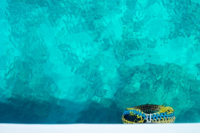jordanie et ses eaux bleues turquoises