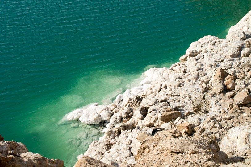 Jordanie - sel de la mer morte