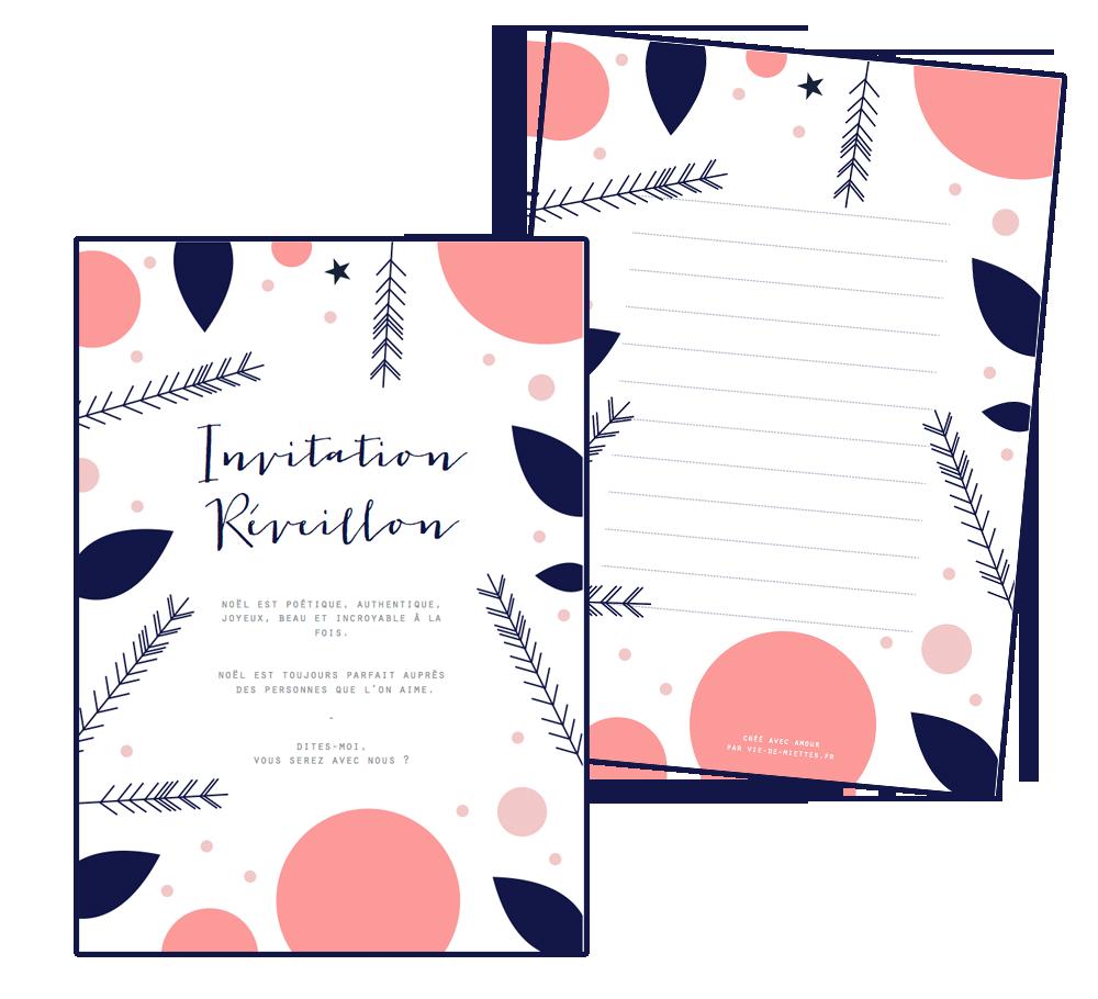 invitation-noel-imprimer-gratuit