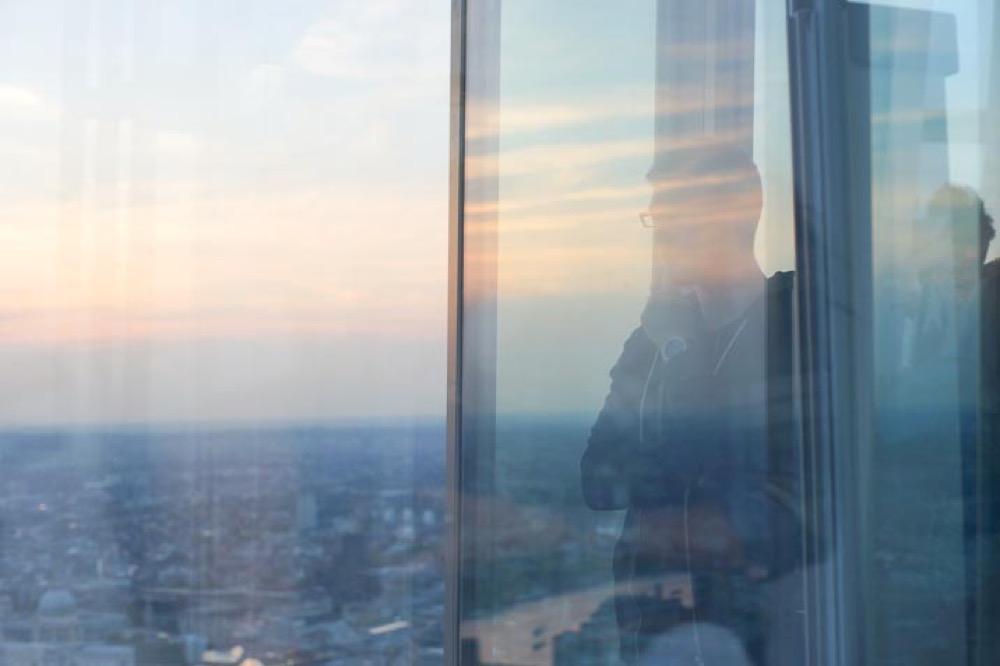 The view à Londres