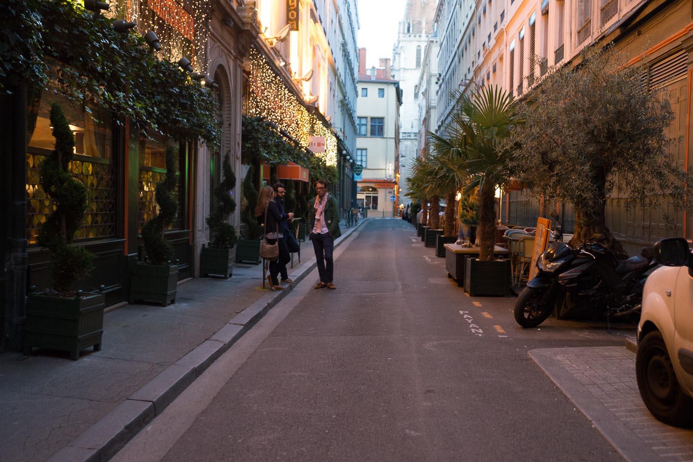 Sortie romantique à Lyon