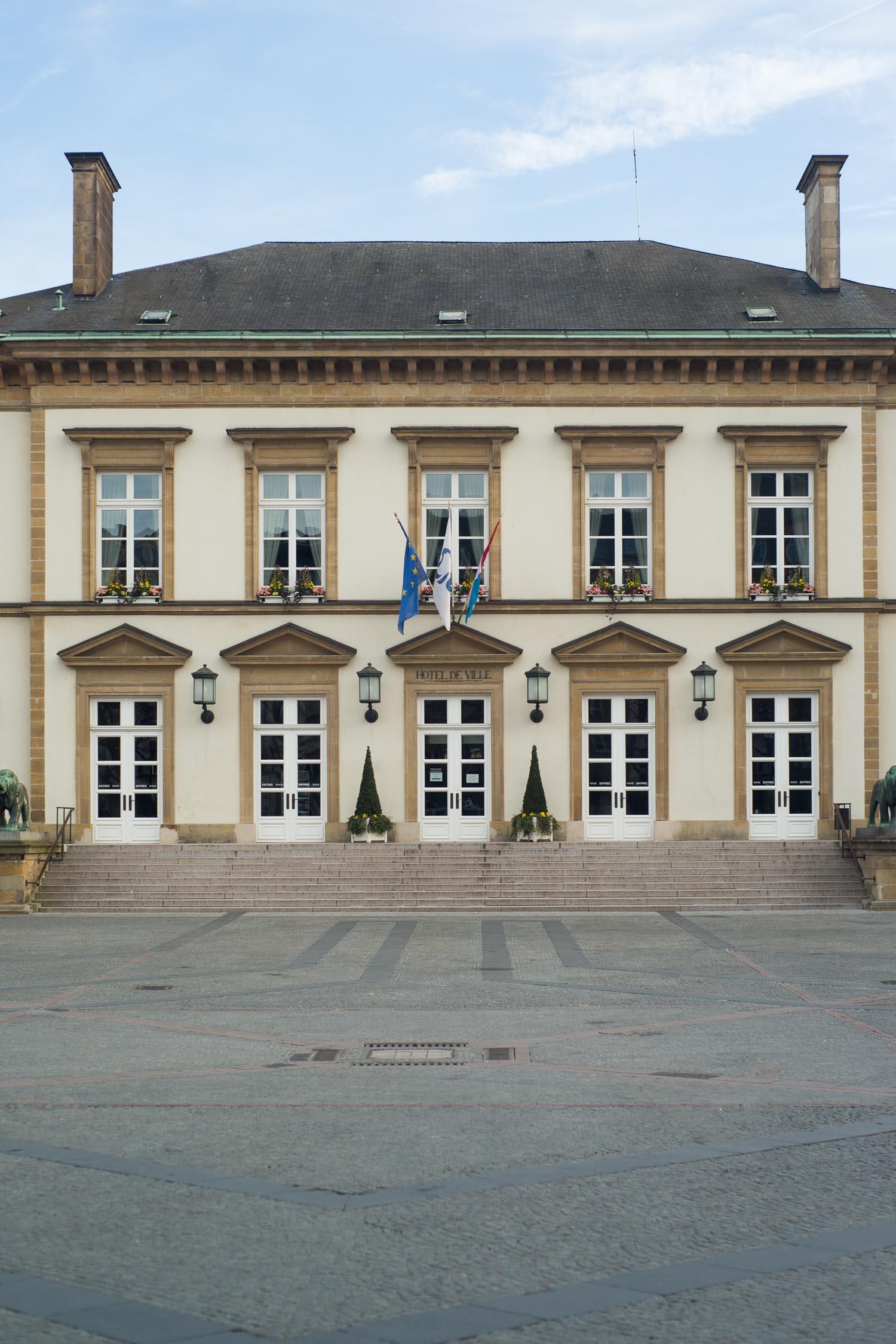 Luxembourg ville en amoureux