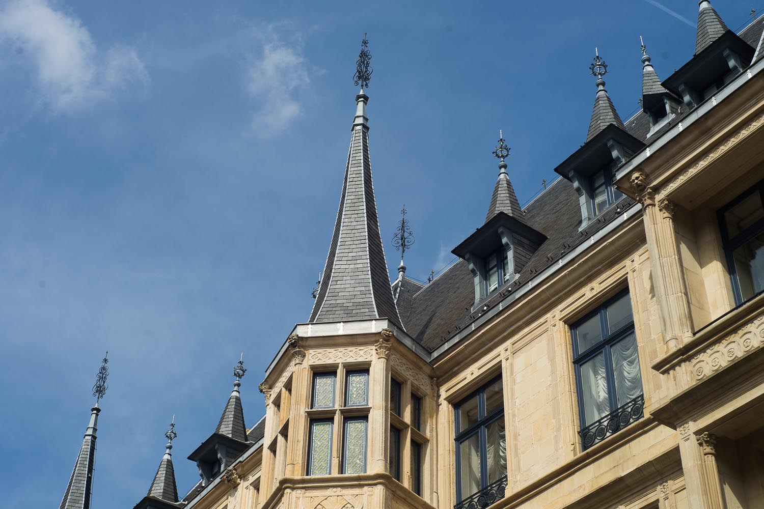 Luxembourg - palais grand ducal