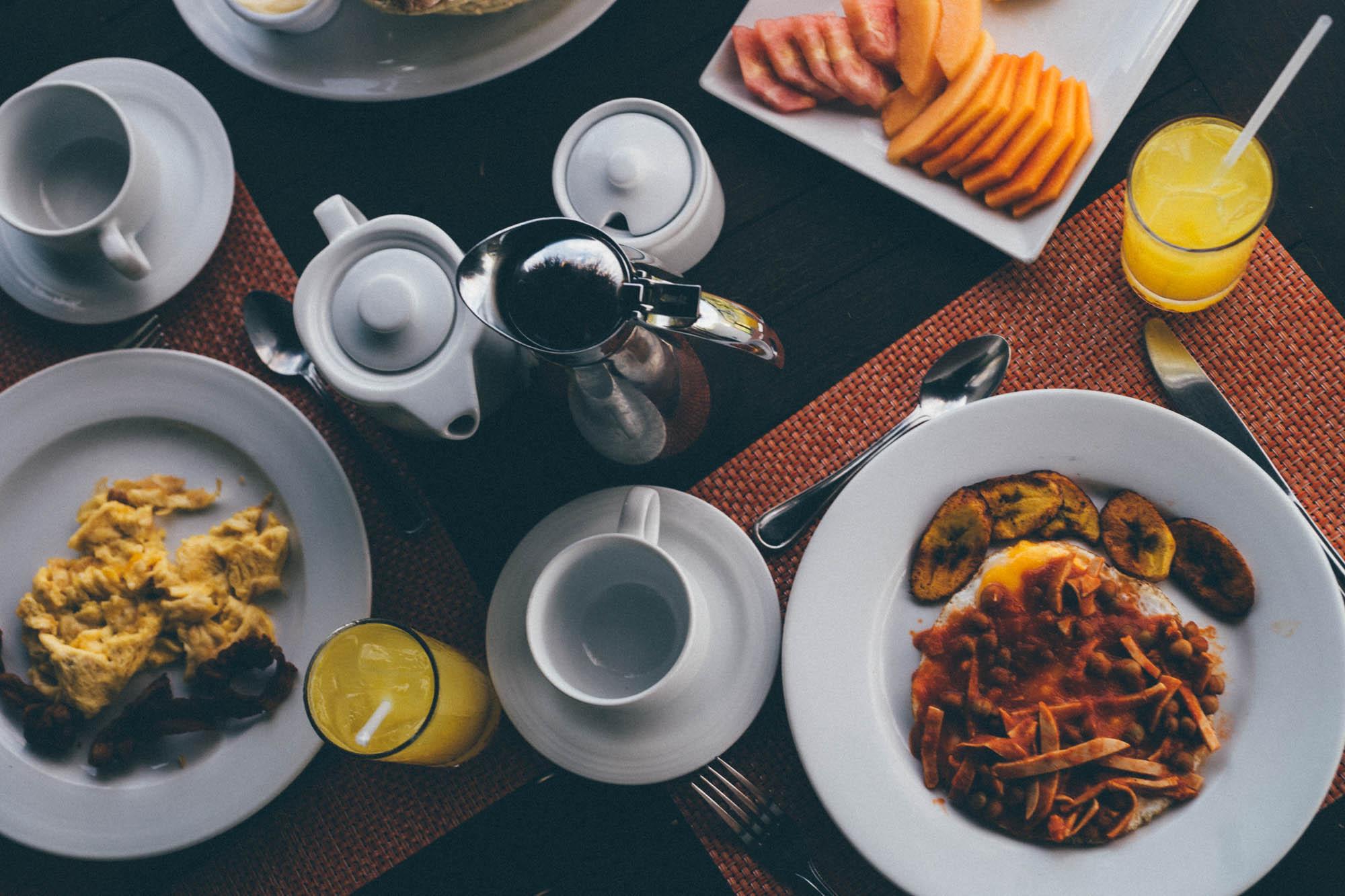 Petit déjeuner à Barahona