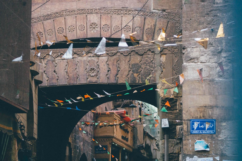 Souk du Caire, soir