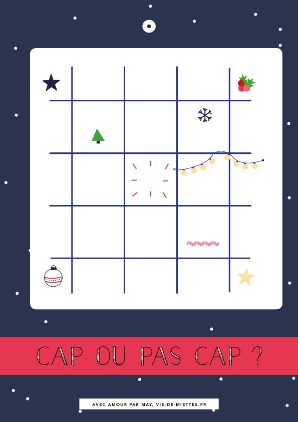 Bingo de Noël à télécharger